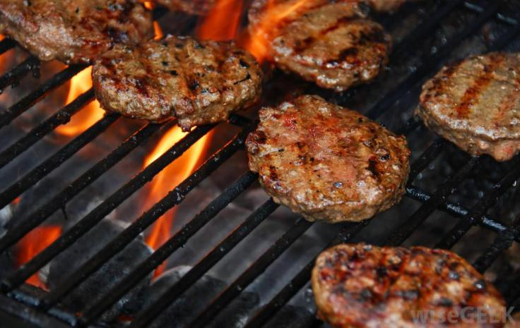 hamburgers-cooking-on-a-grill